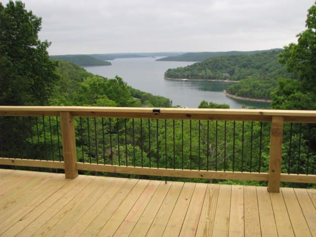 Cabins view, 2 - 8 guests - Eureka Springs - House