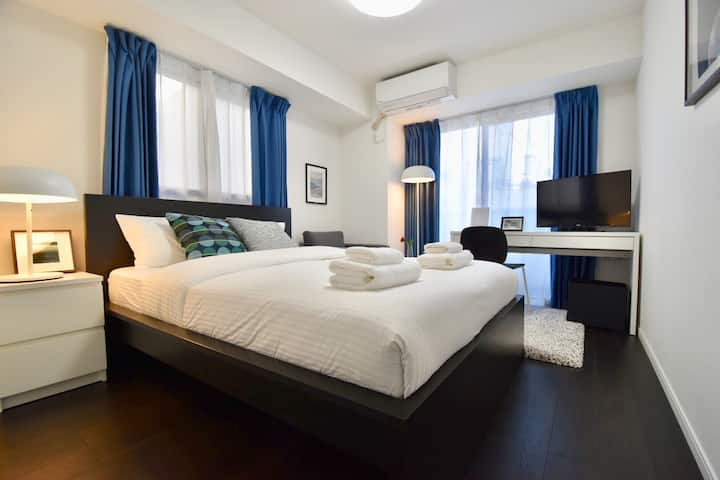 Amazing!Nice room in Tokyo, 3mins to sta, Cozy!