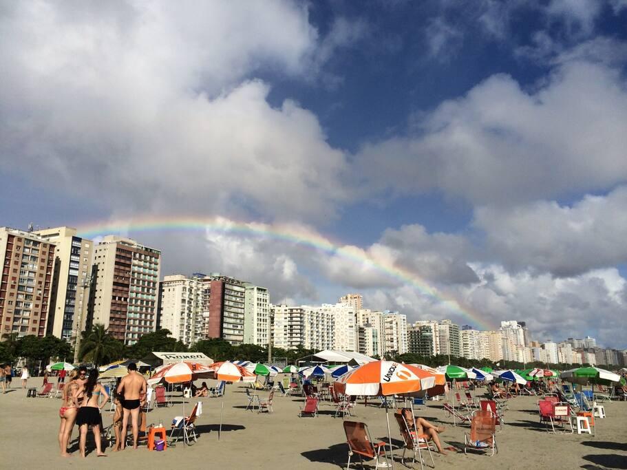 Praia do Boqueirão, tarde