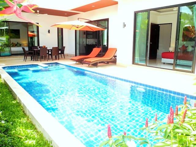 New villa in a beautiful area
