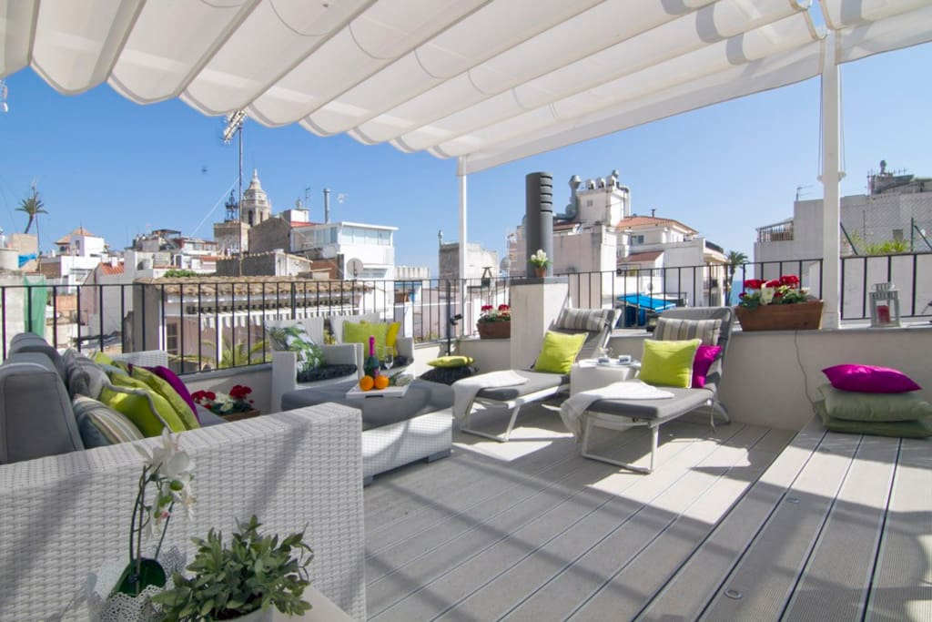 Terraza solarium / Roof top terrace