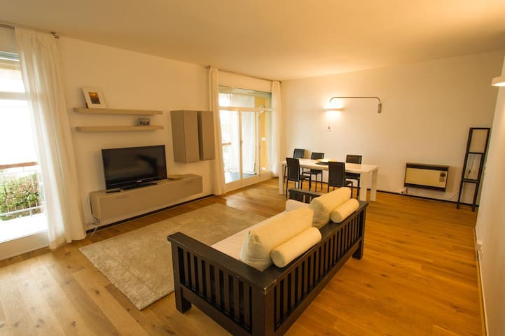 Wonderful apartment with private beach - Sori - Apartment