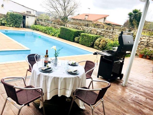 Exclusivo alojamiento con piscina