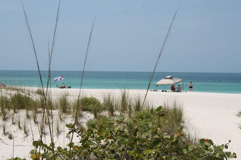 Beautiful Condo Perfect Location 30 steps to Beach