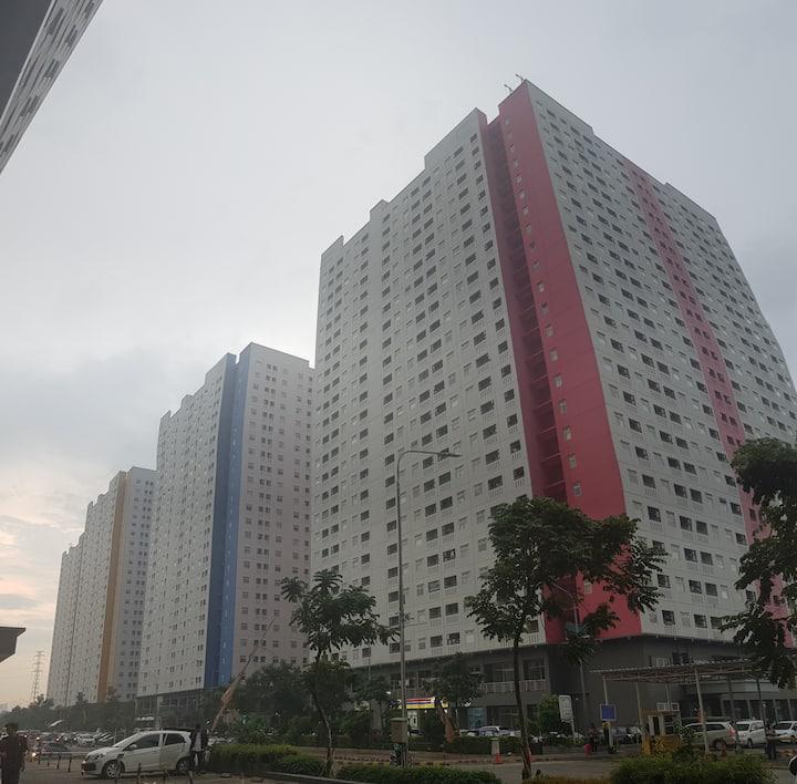 Apartemen Green Pramuka sewa bulanan