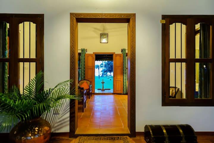 "Kovilakam Lakeside Villa Room 3  ""Herons place"""