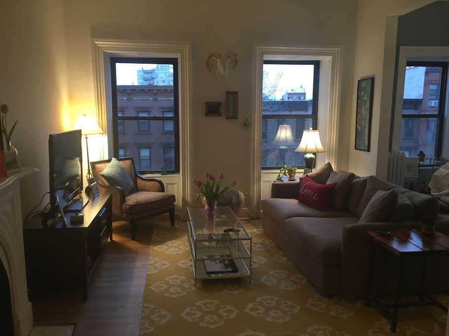Living Room - Early Morning