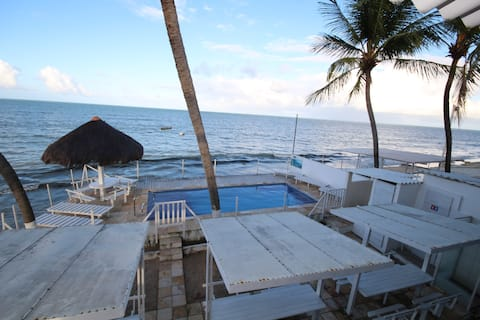 Apartment 04, sea view, 3 bedrooms. Solar Maradentro