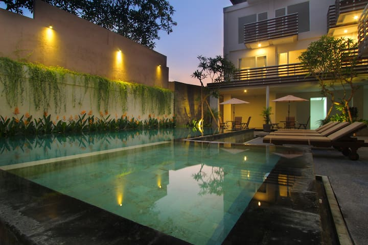 Chic quiet room in central Canggu - นอร์ธคูตา