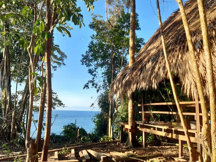 Casa cocuyo: Ecolodge vue océan et jungle