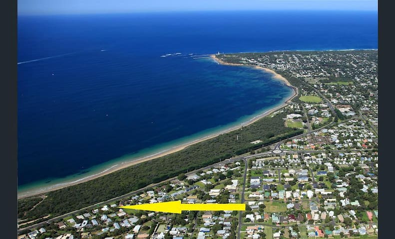 Corsair Cottage- Opposite Beach Pt Lonsdale/Qcliff - Queenscliff - Casa