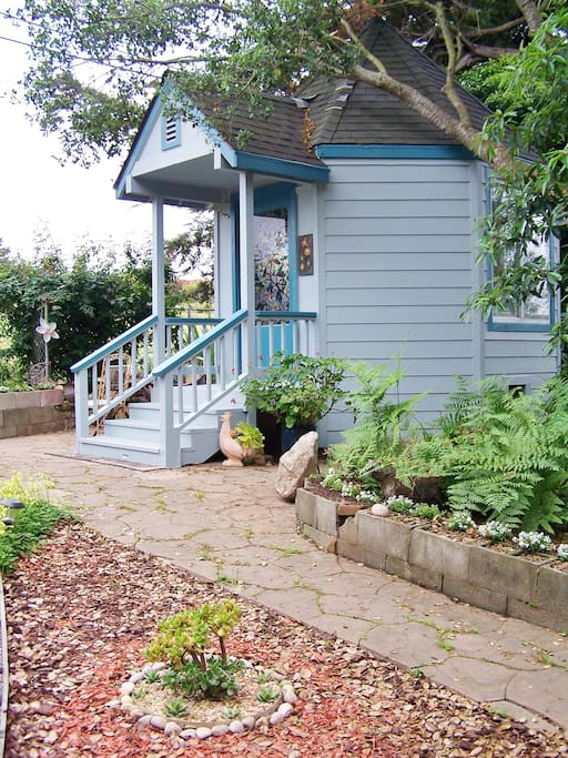 Gazebo Room, a private & separate backyard structure