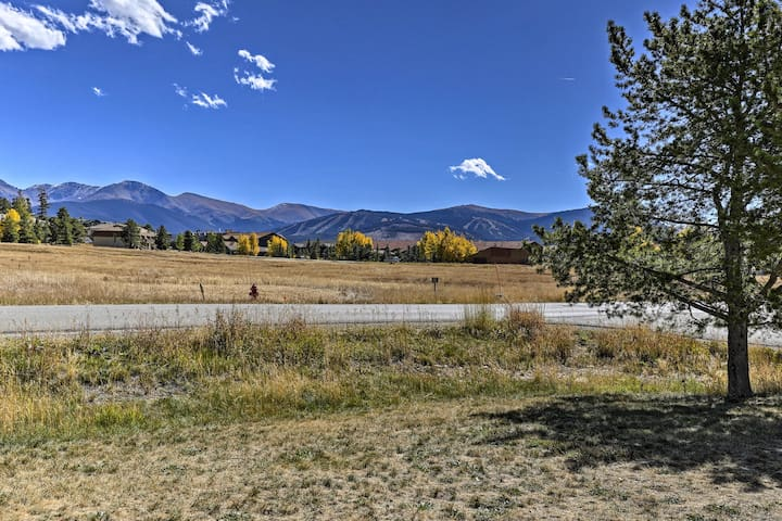 This vacation rental provides you with views of Winter Park Resort.