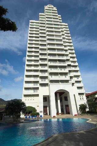 Waterfront 2 bedroom Seaview Suites-B - Karon - Lägenhet