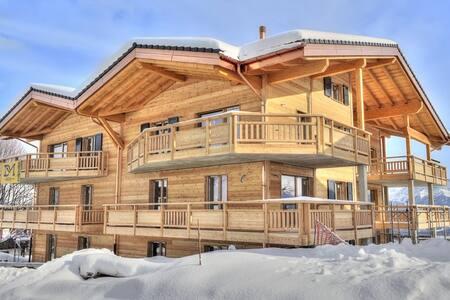 Portes-Soleil/Torgon Appart neuf balcon et vue XXL