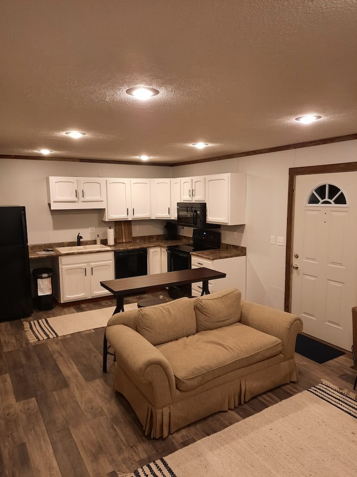 Newly remodeled One bedroom unit.  Number 1.