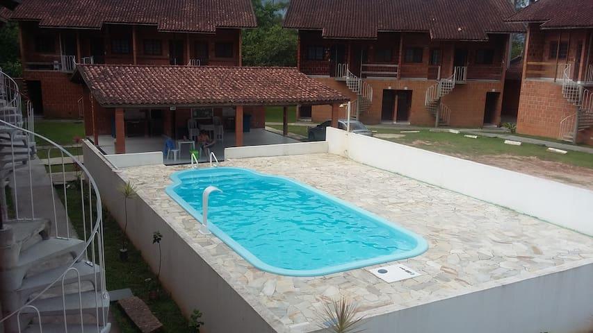 Apartamento Ubatuba - Praia Maranduba - Kitinet - Ubatuba - Serviced apartment