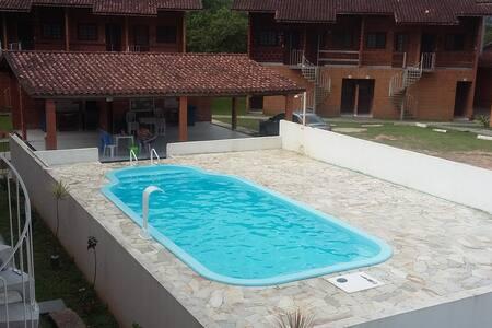 Apartamento Kitinet Praia Maranduba - Ubatuba - Apartment-Hotel