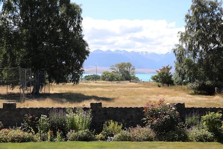 Stunning lake views from farm house - Tekapo - Dom