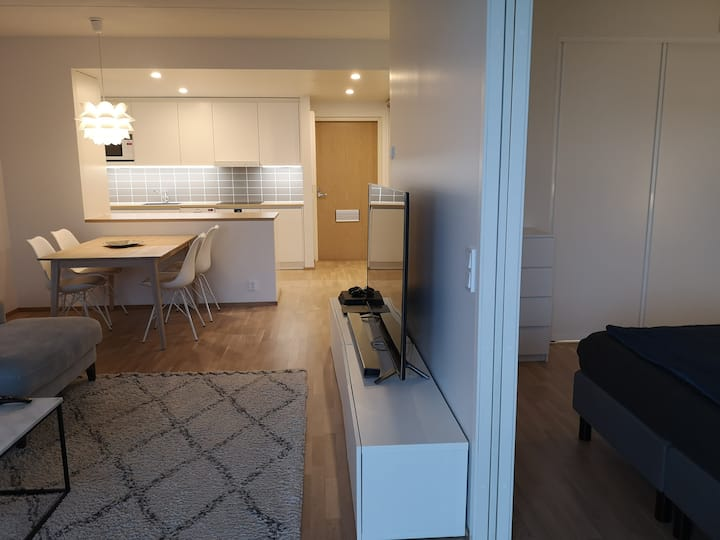 Modern home, 50m2, Wifi, Free parking, Double bed