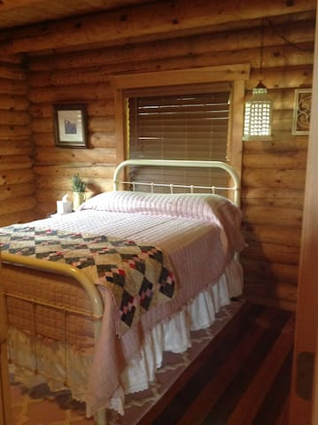 Bedroom 4 includes double bed suitcase bench and closet