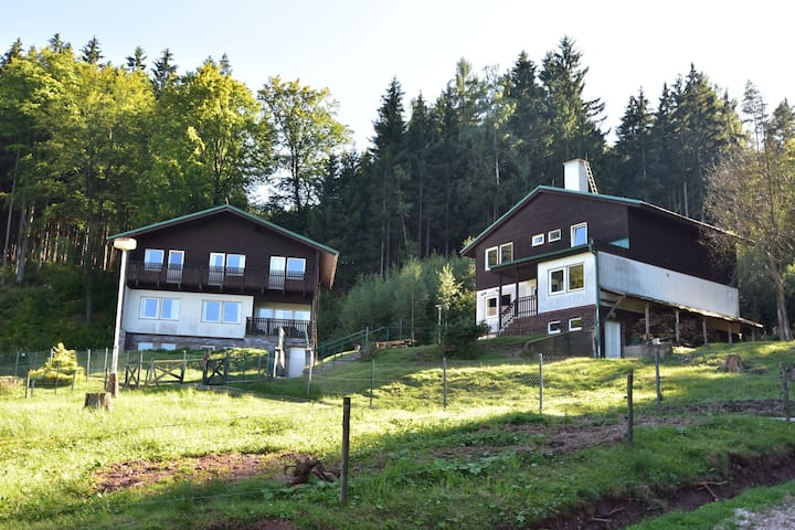 Cozy Chalet in Dolní Brusnice  with Swimming Pool