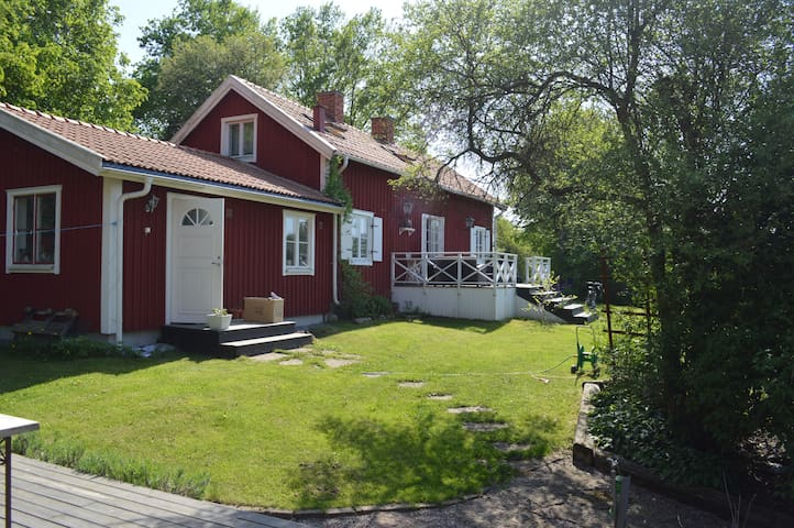 Cottage, 35 minutes from downtown - Ekerö Municipality - Cabaña