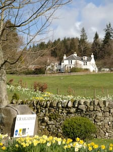 craigadam  C18th  country house - Castle Douglas