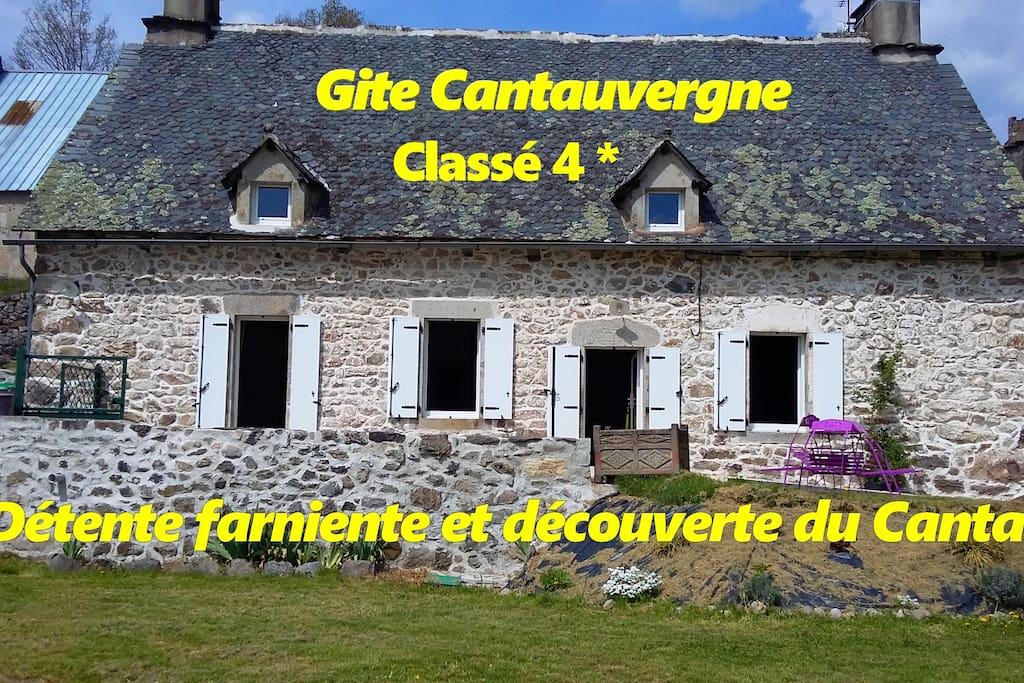 Gîte CANTAUVERGNE 4*