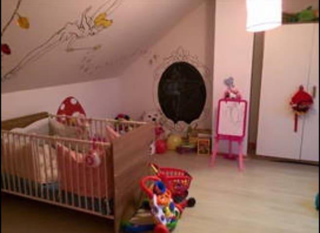 Grande chambre avec lit king size - Thorigné-sur-Dué - Casa