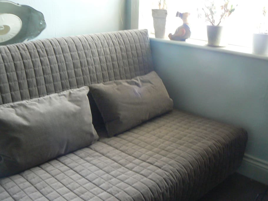 Small Guest Room - very comfortable sofa bed, can be single or double
