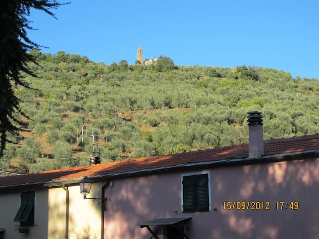 Lovely House among Olive Groves - Aurigo - Apartemen
