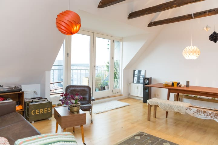 Bohemian loft with great view  - Copenhagen - Apartmen