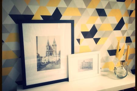 Charming central room - プラハ - アパート