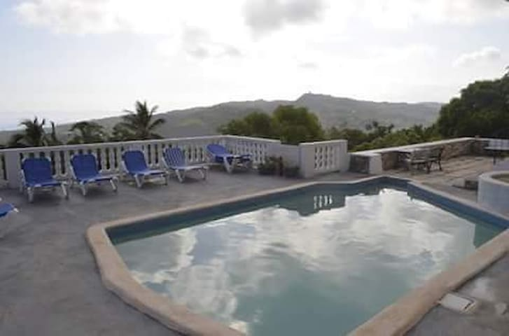 WoodandWater Villa - Double room seaviews - St. Mary Parish, JM - Casa
