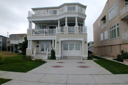 Inlet Point Beachfront House - North Wildwood
