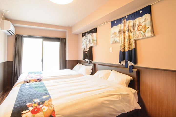 Kyoto station area Apartment type  Twin#B