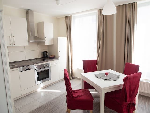 Luxus City Apartment Domblick 1