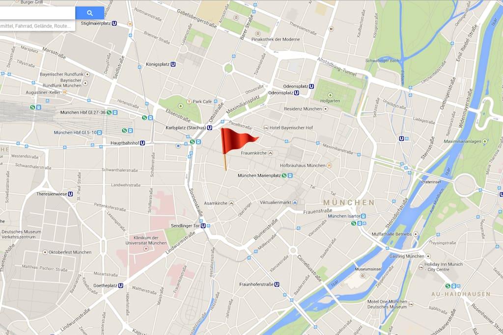 located in the heart of Munich