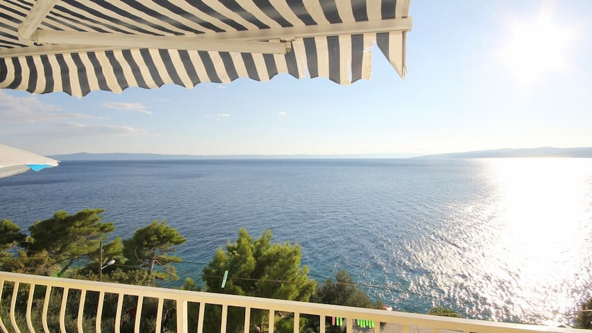 Apartment with amazing sea  view - Krvavica - Lakás