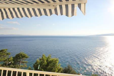 Apartment with amazing sea  view - Krvavica - 公寓