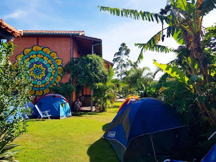 Camping Mandala O mais Verde da Praia do Rosa!