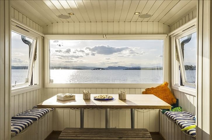 Unique seafront property in Oslo - Oslo - Kabin