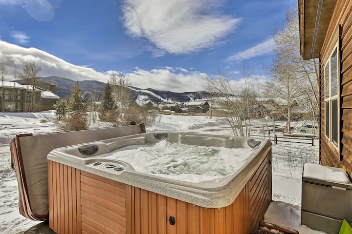Your relaxing Rocky Mountain retreat awaits at this 3-BR, 2.5-BA vacation rental