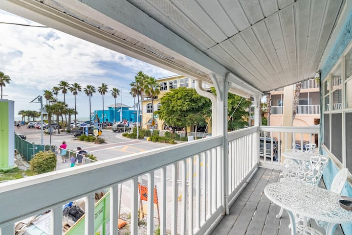 NEW LISTING! Bridge Street Beauty, Upper Deck With Views
