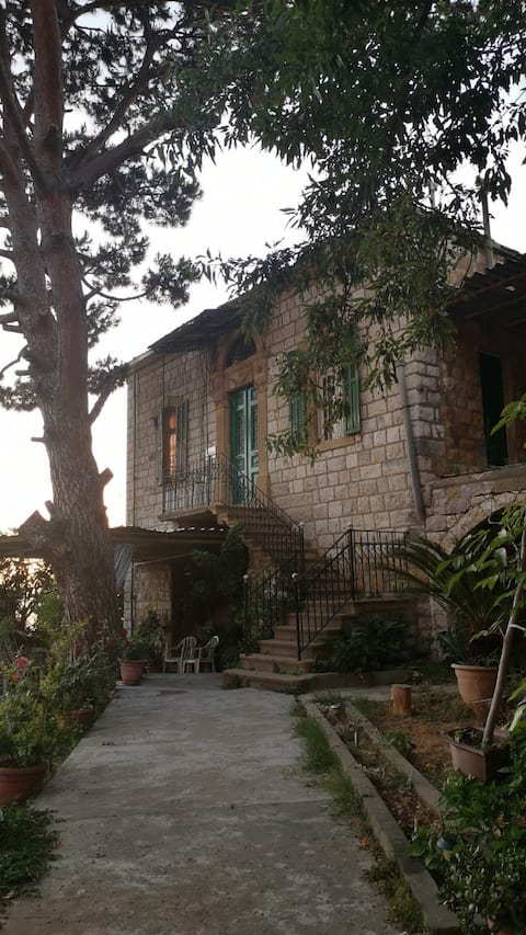 Charming house at the heart of Lebanese village