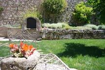 il giardino di erbe aromatiche