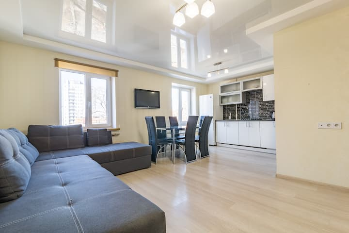 Lux 2-bedrooms near Most City
