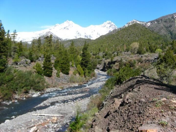 Cabaña de montaña para 10 personas en Antucalhue
