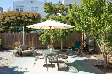 Garden Apartment - Crocker Amazon near the Mission - San Francisco